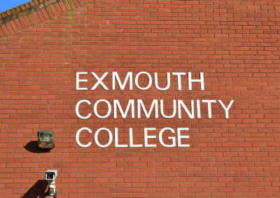 Exmouth-communitycollege-sign