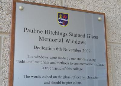 Pauline-Hitchings-Memorial-sign