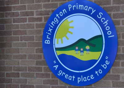 brixington-primary-school-wall-sign