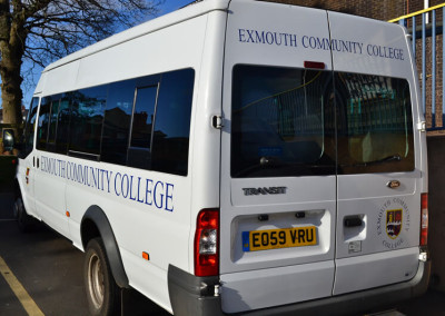 exmouth-community-college-mini-bus-sign-2
