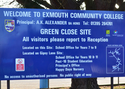 exmouth-community-college-post-sign