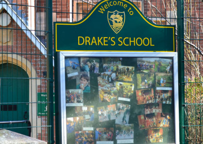 drakes-school-poster-case